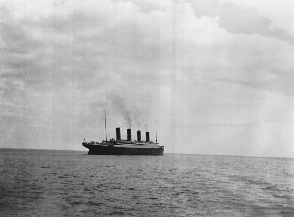 Photo d'histoire : dernière image du Titanic quelques jours avant le naufrages du plus célèbre bateau au monde.