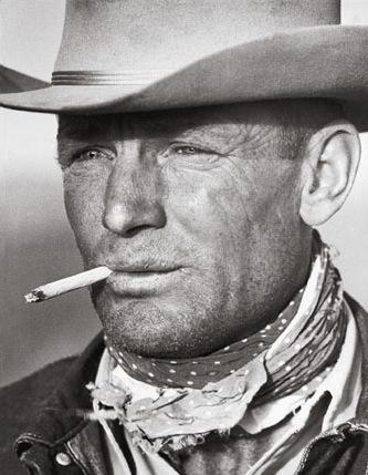Photo Malboro Man, icône de Malboro et connu pour avoir été une des publicités les plus efficaces