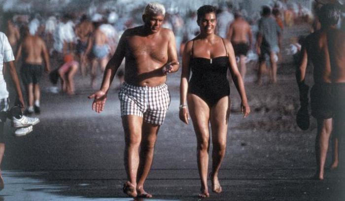 Photo prise par José Luis Cabezas d'Afredo Yabran, patron de la mafia argentine et proche de Carlos Menem, président argentin, accompagnée de sa femme